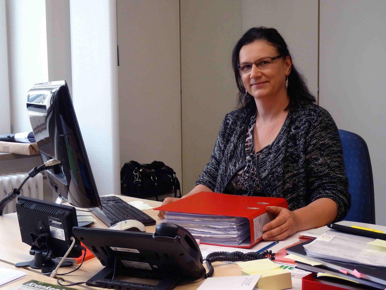 Susanne Spreitzer - Pfarrsekretärin