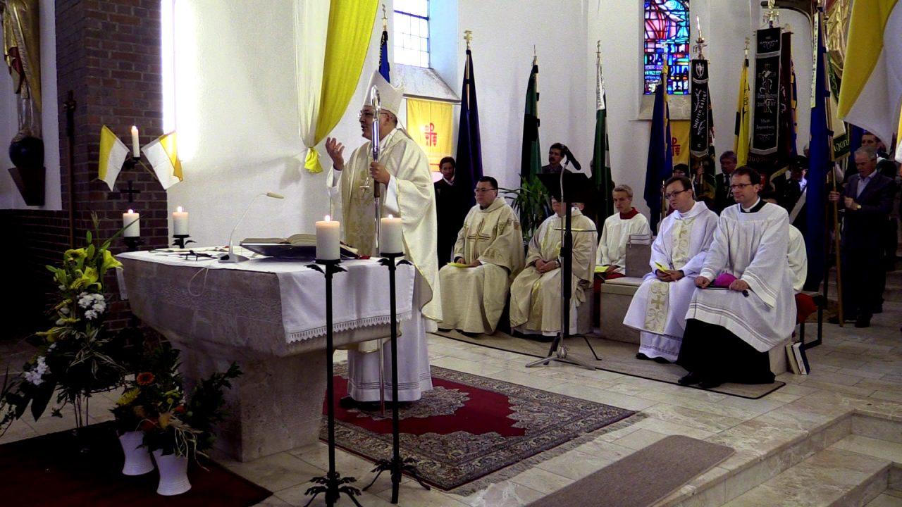 2014: Festgottesdienst mit Bischof Rudolf