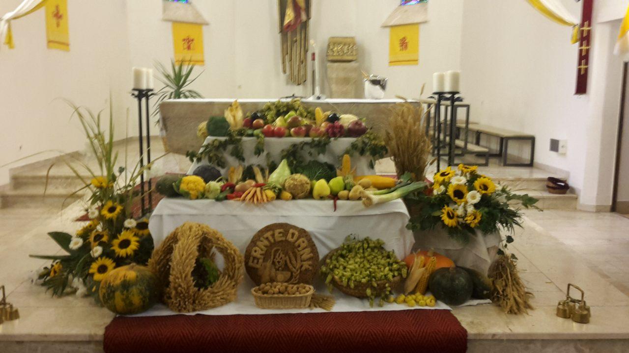 Erntedankaltar St. Michael 2016